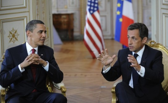 [US+President+Barack+Obama+French+President+Nicolas+Sarkozy+bilateral+meeting+Prefecture+of+Caen+June+6+2009++World+War+II+veterans+Saturday+to+mark+the+65th+anniversy+d-day.jpg]